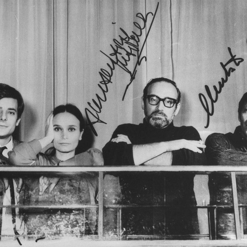 Giancarlo Giannini, Annamaria Guarnieri, Valerio Zurlini, Umberto Orsini
